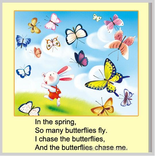 两 只 蝴蝶 英文 版
