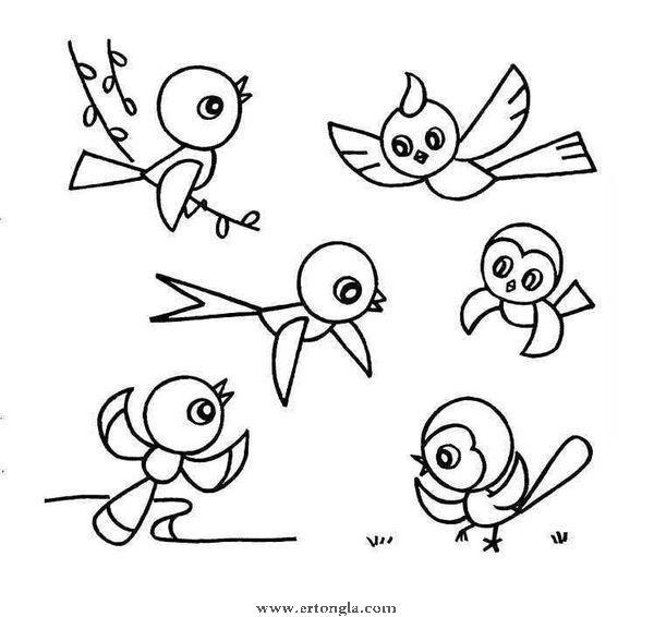 [28p]燕子的简笔画怎么画/燕子的简笔画怎么画大图