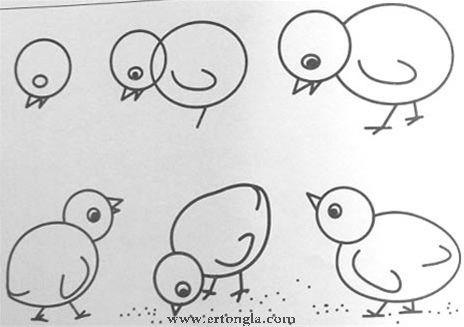 儿童简笔画小鱼】的画法步骤图(整理)