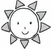 太阳简笔画怎么画