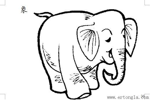 简笔画 动物简笔画 > 50个动物简笔画打包下载