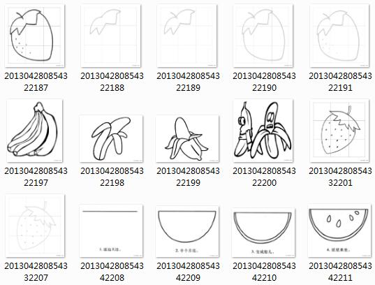 1.8G未分类简笔画图片打包下载