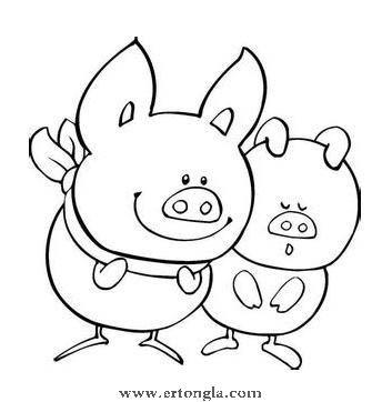 简笔画怎么画猪,猪简笔画怎么画,动物简笔画,儿童啦网