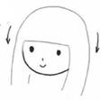 女生发型简笔画怎么画