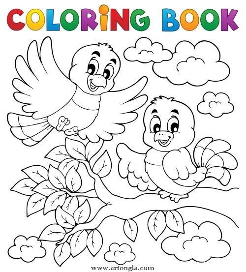 卡通小鸟简笔画图片4