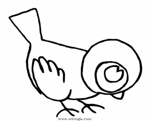 简笔画 动物简笔画  简笔画猫头鹰图片 简笔画猴子怎么画 愤怒小鸟简