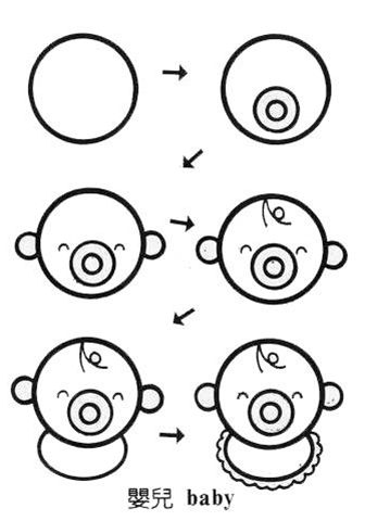 圆形在我们生活中很常见,本期我们一起来用简笔画圆画生活中的小动物,不同的圆圈组成不同的小动物,非常有意思,大家一起i来动手创作吧!你还可以想一想用长方形、正方形能够组成哪些生活中常见的动物、物品?