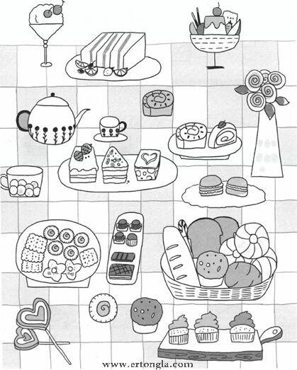 厨房用品简笔画怎么画,日常简笔画,儿童啦网