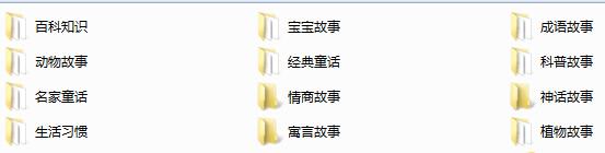 胎教故事大合集(174个)