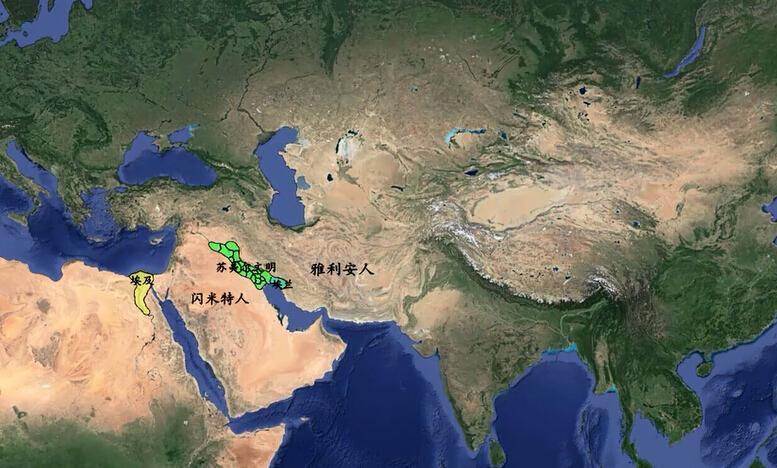 人类霸占地球的轨迹,4分钟震撼演示世界历史