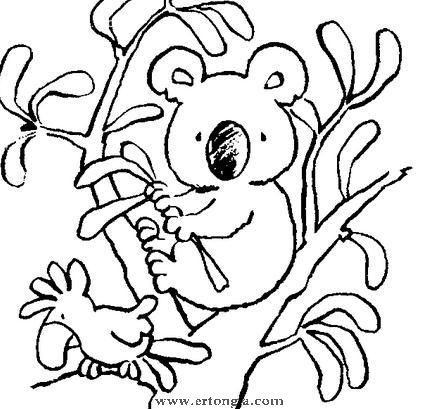 考拉简笔画怎么画,动物简笔画,儿童啦网