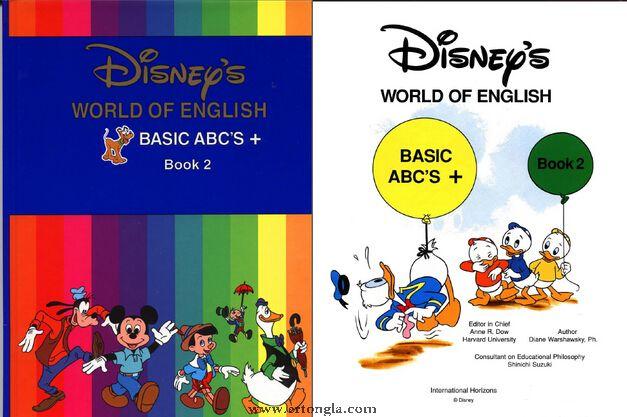 迪斯尼美语世界12DVD+PDF教材绘本