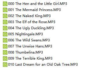 少儿英语故事100个打包下载Mp3