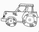 简笔画汽车图片