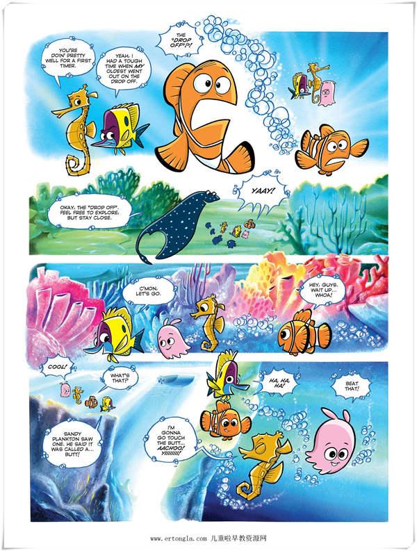 Disney Comics 迪斯尼漫画系列之十《海底总动员》Pdf