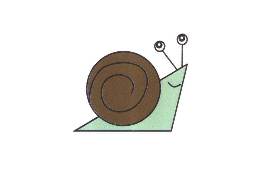 蜗牛,蜗牛简笔画怎么画