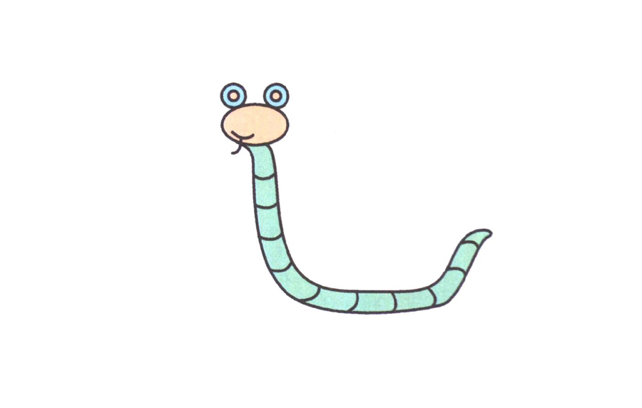 眼镜蛇,眼镜蛇简笔画怎么画