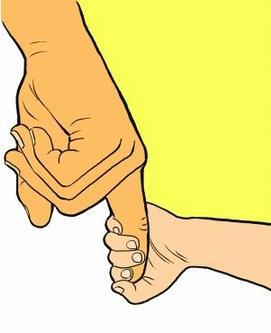 3根手指矢量图