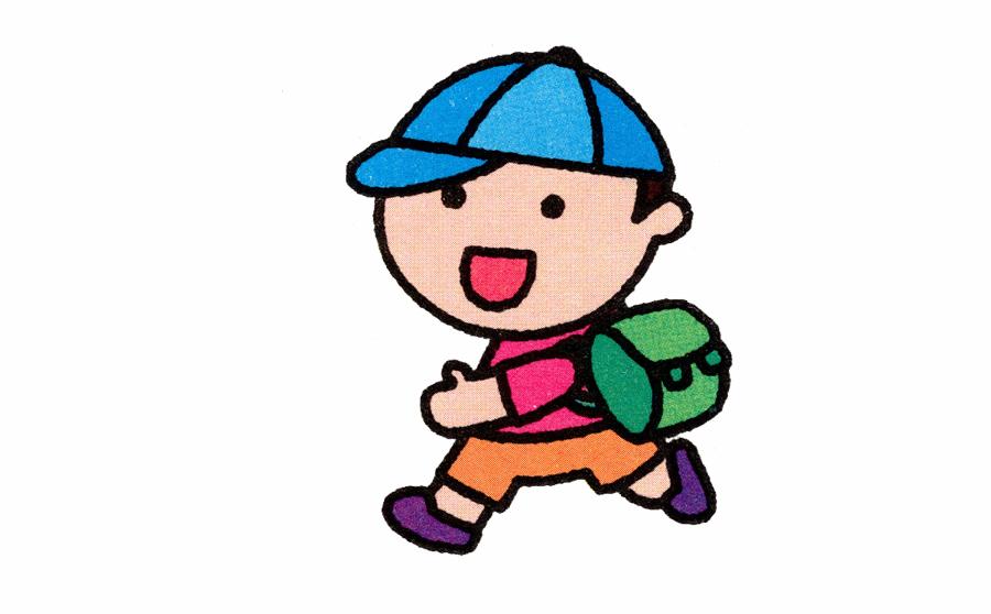 学生简笔画,学生简笔画步骤分解,学生简笔画怎么画,人物简笔画,儿童啦网