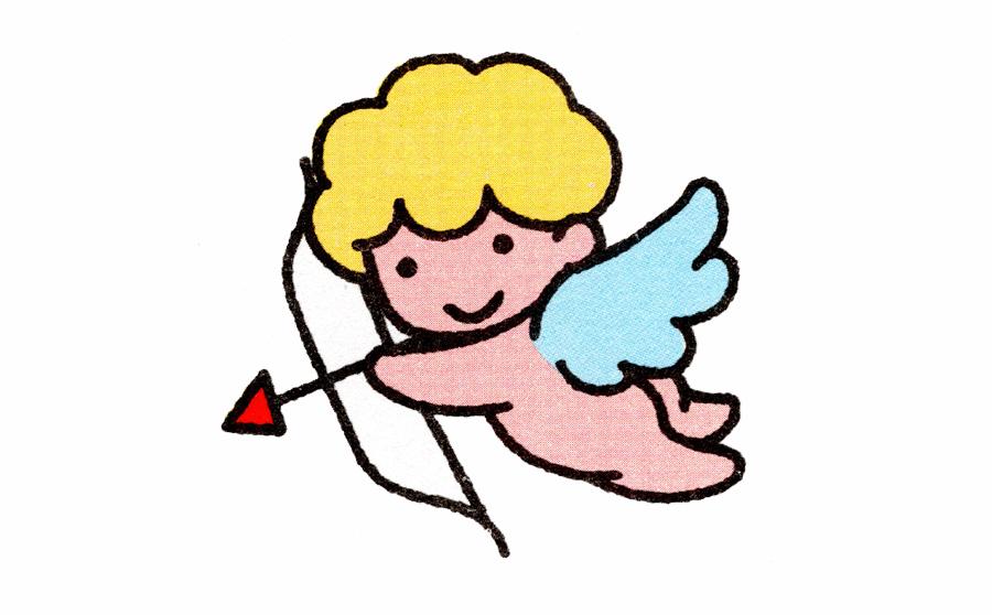 天使简笔画,天使简笔画步骤分解,天使简笔画怎么画