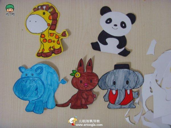 儿童绘画教程—可爱的儿童创意绘画作品ppt绘本下载