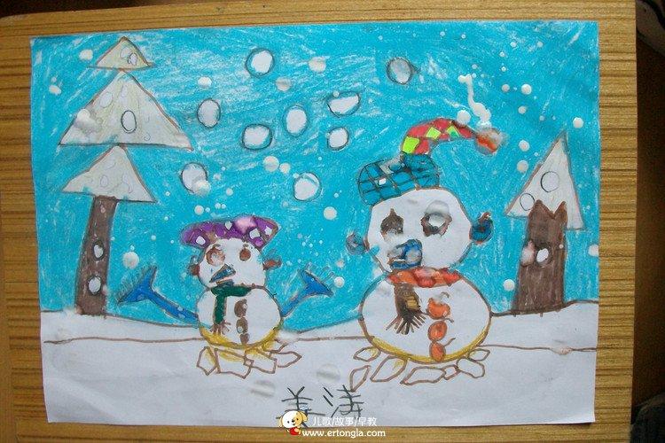 童年的时候儿童画内容|童年的时候儿童画版面设计图片