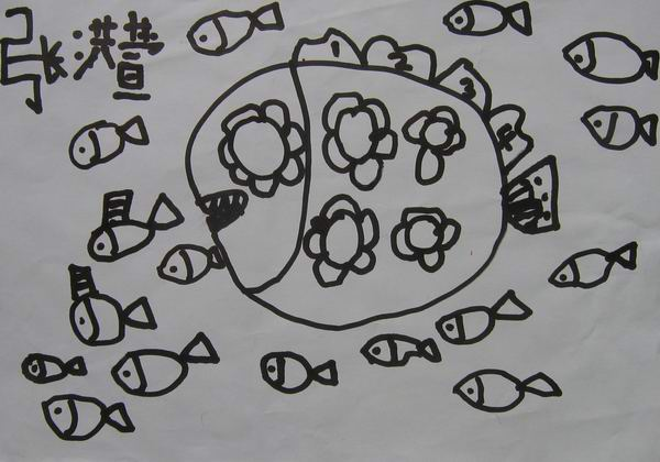学前班简笔画分步骤