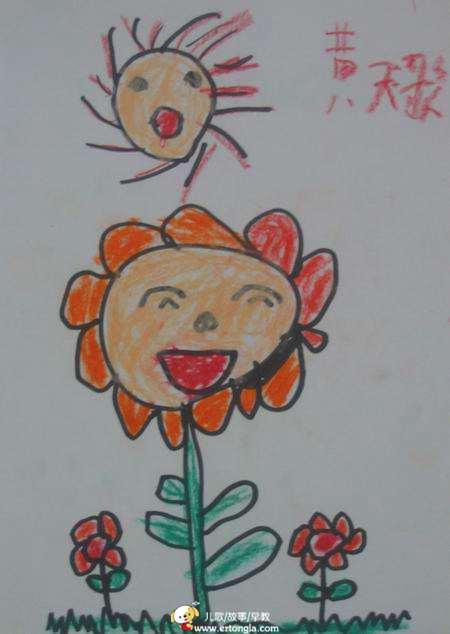 > 学前班美术兴趣班学生儿童画优秀作品选(一)图片